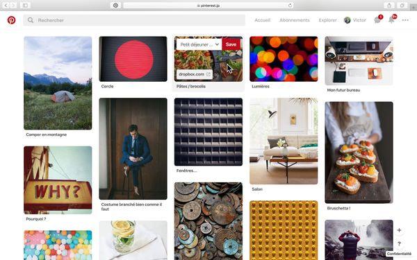 Mur Pinterest